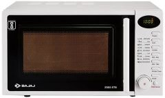 BAJAJ 20L Grill Microwave Oven   230 Volts Suitable For Bachelors & Small Families (2005 ETB) (White)