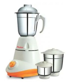Skyline VTL-3000 550W 3 Jars Mixer Grinder, 100% Stainless Steel & 3 Speed Functions
