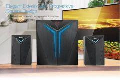 F&D 2.1 Bluetooth Speakers, Clear Sound & High Bass & 15 Meter Bluetooth Range (F560X)
