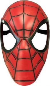 PTCMART Design Face Mask For boys and girls Party Mask(Red, Pack of 1)
