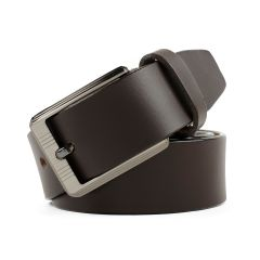 Winsome Deal Brown Leather Formal Comfortable Belt For Men's