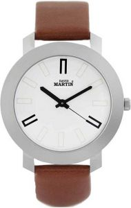 Brown Round Dial Wrist Watch Analog Watch For Men & Women (DMST021)