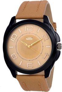 David Martin 1121-GL Round Dial Watch For Unisex (DMLT022)