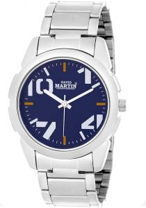Casual Analog Blue Dial Analog Watch For Unisex (DMST017)