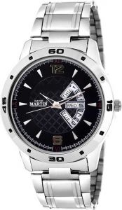 Black Dial Watch with Working Day & Date Chronograph Function Analog Watch For Unisex (DMSTDD-016)