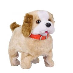 Jumping Walking And Barking Dog Soft Toy Fantastic Puppy Battery Operated (Pack Of 1)