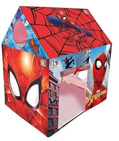 Extremely Light Weight Water Proof Kids Play Tent House For 10 Year Old Girls And Boys (Spider-Man Printed)