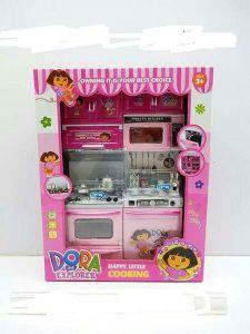 2 Part Dora Kitchen Toy Set For Kids (Pack Of 1)
