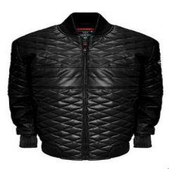 ASPENLEATHER Franchise Club Double Diamond Bomber Jacket For Men's