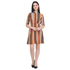 G.P Daisy Regular Wear Short, Stlyish Printed, Short Dress For Womens (Multi-Color)