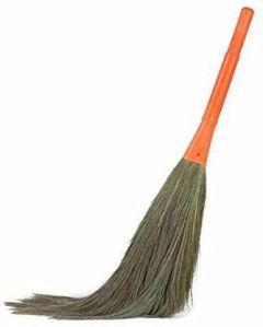 A-One Soft Grass Broomstick Mop JadooGrass Dry Broom (Quantity- 4 Piece Set)