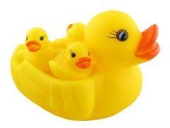 Chu Chu Duck Family Bathing Toys Set For Babies (Pack Of 1 Set)