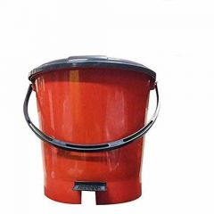 Plastic Dustbin Suitable for Kitchen and office use (Random Color will Be Ship) (Pack of 1)