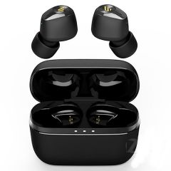TWS-2 Deep Bass True Wireless Earbuds With Magnetic Charging Case And HD Stereo Sound