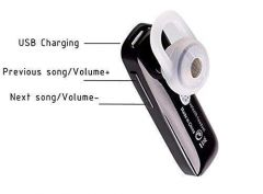 Unique Solid Single Earpiece For Talk & Walk, For All Smartphone (Pack of 1)