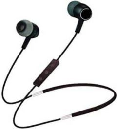 Stylish and Ultra-Thin Duet Mini Bass Bluetooth Earphone For all Smart Phones (Black)