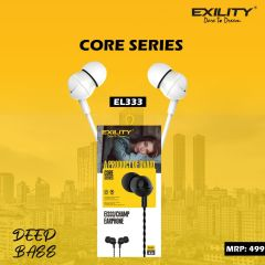 Deep Bass Dvaio Exility Earphone For Android & iOS Mobile (White)