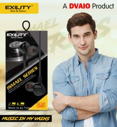 Deep Bass Dvaio RS-247 Wired In the Ear Earphone For Android & iOS Mobile (Black)