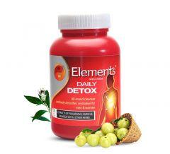 Elements Wellness Daily Detox Capsules For Men & Women (60 Cap) (Pack of 1)