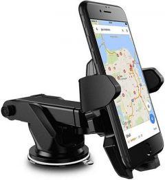 Car Mobile Holder for Windshield (Pack of 1)   (Black)
