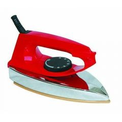 Exclusive Useful & Trendy Stylish Original Premium High Bass HARQULAS Delux Iron (Pack of 1) | (Red)