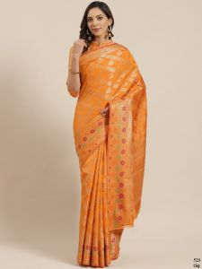 Soft Patola Silk Saree Weave, Texture, Embellishment Design Saree For Women's