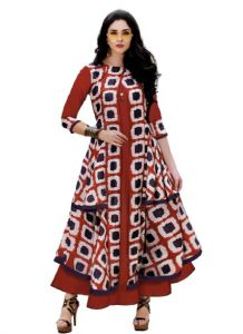 Bagrecha Creations Designer Gown | Party Wear Dress For Girls & Women's - Red