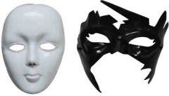 PTCMART Face Mask For Boys & Girls & Play Role Party Mask(Pack of 2)