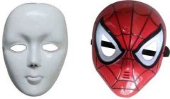 PTCMART Face Mask For boys and girls Party Mask(Multicolor, Pack of 2)