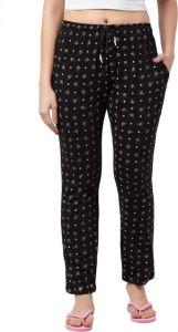FashionNyou Women's Hosiery Black Pajama (Pack of 1)