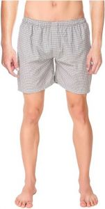 Fearless Fashion Self Design And Pure Cotton Men Boxer (Grey) (Pack of 1)