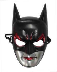 PTCMART Female Batman Shape Face Mask For Party And Play Role (Pack Of 1)