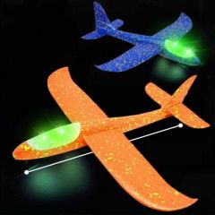 Hand Throw Flying Aeroplane, Gliders, Aircraft Flying Model, Toy For Children (Pack Of 2)