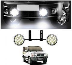 After Cars 12 LED Light Fog Lamp (Set of-2),for Car Tata Sumo Victa