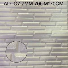 Foaming Sheet Decorate Wall And Easy To Install (Multi-Color) | (AD-C7) (7 MM)