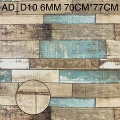Foaming Sheet Decorate Wall And Easy To Install (Multi-Color) | (AD-D10) (6 MM)