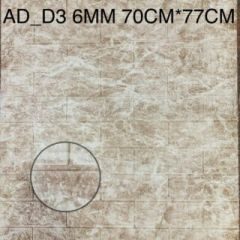 Foaming Sheet Decorate Wall And Easy To Install (Multi-Color) | (AD-D3) (6 MM)
