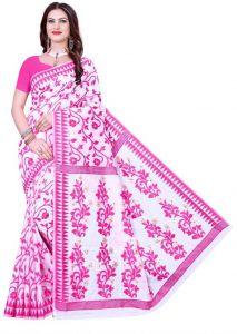 Self Design Fashion Cotton Silk Saree