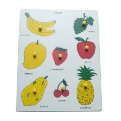 Fruit Puzzle for for Learning Kids (Pack Of 1)