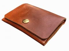Solid Casual Genuine Leather RFID Wallet for Men & Women (Brown) (Pack of 3)