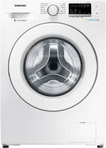 Samsung WW65R20GLMW/TL 6.5 Kg Inverter Fully-Automatic Front Loading Washing Machine with Chemical-Free Drum Sanitization (White)