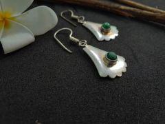 Astrogemsindia Designer and Fashionable 92.5 Sterling Silver Natural Swarovski Gemstone Earring For Women's & Girls