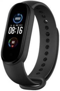 GOOFFI Fashionable & Stylish M5 Wrist Smart Band For Unisex (Black)