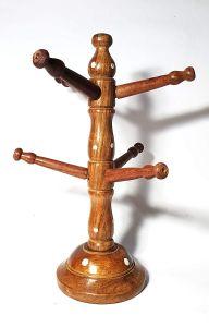 Woodcraft India Solid Sheesham Wooden Bangle Stand