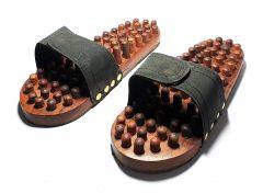Woodcraft India Solid Wooden Foot Massager Sleeper (massager 700)
