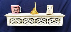 Woodcraft India Wall Shelve Decorative & Pooja Shelve Wci 002