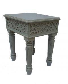 Woodcraft India Soild Wooden Stylish & Morden Side Stool