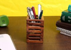 Pen Stand Office Stationery Pen Holder This Stand is equipped to hold your pens markers, Pins USB