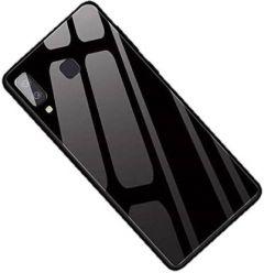 YadavEnterprises Strong Back Cover for SAMSUNG A8 STAR 2018 (Black) | (Grip Case)