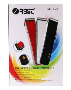Orbit SN-102 Cordless Hair Trimmer With Charging Cable For Men